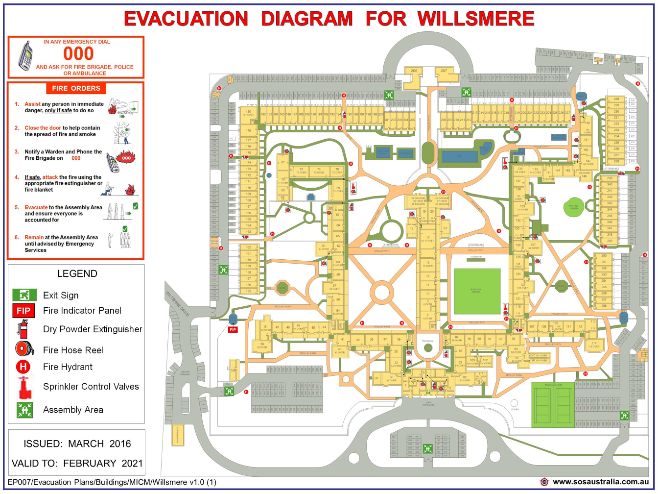 Emergency Map small