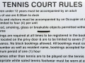 thumb Tennis Courts Rules